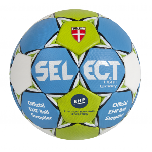 BALLON HANDBALL LIGHT GRIPPY 2015/2016 SELECT Jaune/Vert