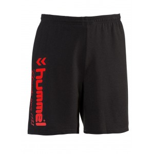 UNIVERS SHORT HUMMEL Noir/Rouge