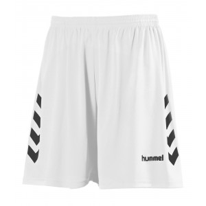 NEW CHEVRON SHORT HUMMEL Blanc/Noir