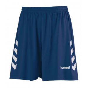 NEW CHEVRON SHORT HUMMEL Marine/Blanc