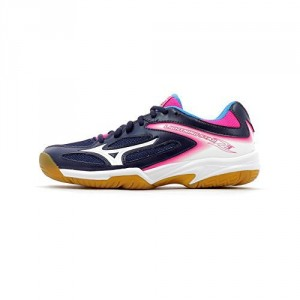 LIGHTNING STAR Z3 JR MIZUNO Marine/Rose/Blanc