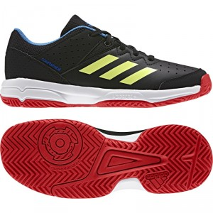 Chaussures HANDBALL Junior COURT STABIL JR ADIDAS Noir/JFluo/Roy