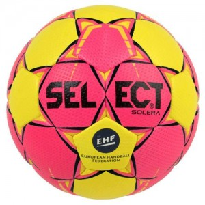 BALLON HANDBALL SOLERA 2018/2019 Rose/Jaune SELECT