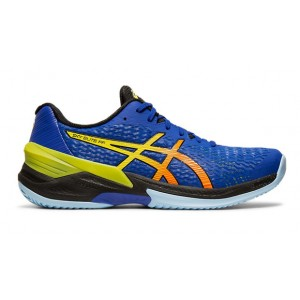 CHAUSSURE HANDBALL HOMME SKY ELITE FF ASICS Roy/Orange/JFluo