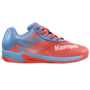 CHAUSSURE HANDBALL JUNIOR WING 2.0 KEMPA Corail/Grise