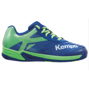 CHAUSSURE HANDBALL JUNIOR WING 2.0 KEMPA Royal/Vert