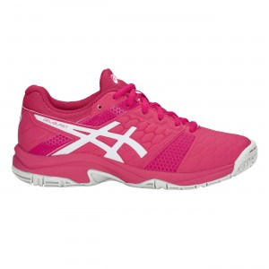 CHAUSSURE HANDBALL JUNIOR BLAST 7 ASICS Rose/Blanc