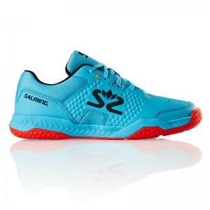 CHAUSSURE HANDBALL JUNIOR HAWK JUNIOR SALMING Bleu/Rouge
