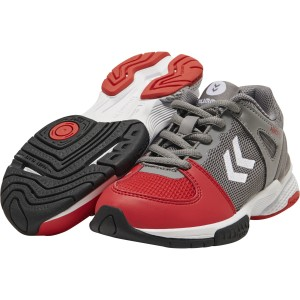 CHAUSSURE HANDBALL JUNIOR AERO HB200 SPEED HUMMEL Gris/Rouge