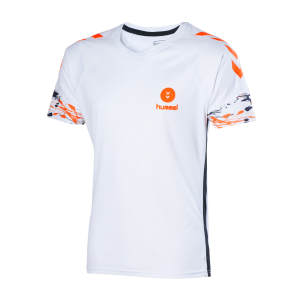 CPGN MAILLOT HUMMEL Blanc/Orange Fluo