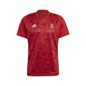 FFHB TS HOMME 2021 ADIDAS Rouge