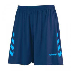 NEW CHEVRON SHORT HUMMEL Marine/Diva blue