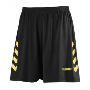 NEW CHEVRON SHORT HUMMEL Noir/Jaune