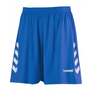 NEW CHEVRON SHORT HUMMEL Royal/Blanc