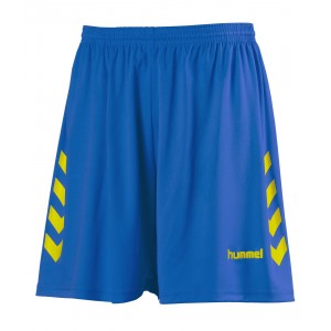 NEW CHEVRON SHORT HUMMEL Royal/Jaune