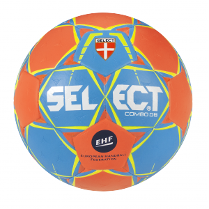 BALLON HANDBALL COMBO SELECT Orange/Bleu