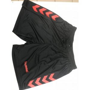 NEW CHEVRON SHORT HUMMEL Noir/Rouge